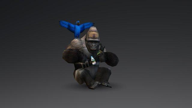 Symbiot 3D Model