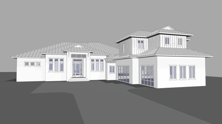 Apopka Court 3D Model