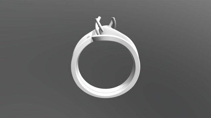 טבעת מתחברת 3D Model