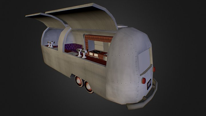 Airstream Bar 3D Model