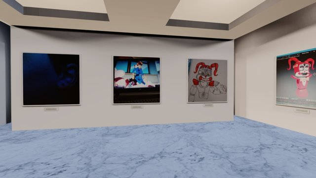 Instamuseum for @404_Did_I_do_that 3D Model
