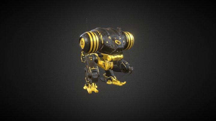 Mech Low 3D Model