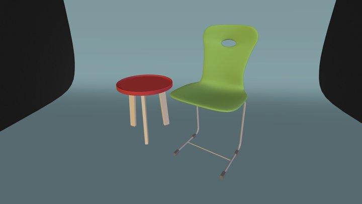 Matejowsky Stuhl X06 3D Model