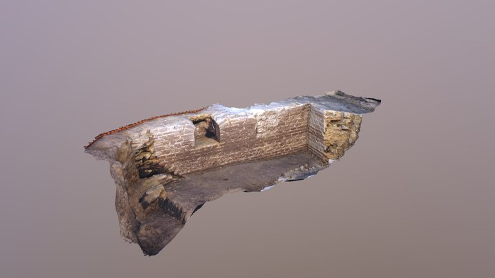 Orléans, fouille Vinaigrerie Dessaux, cave ST2 3D Model