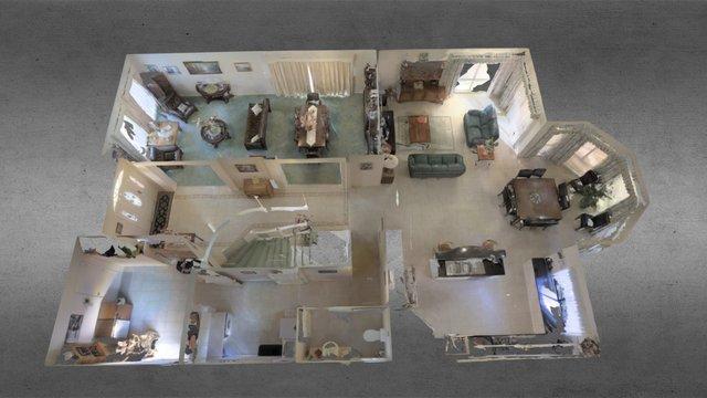 1 Robbin Court, Doncaster, Ground Floor 3D Model