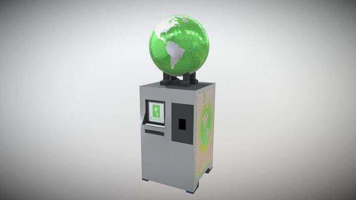 Eco Planet 3D Model