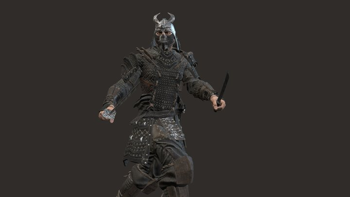 Samurai remastered2 3D Model