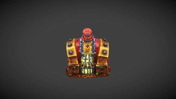 Gallywix Hero Prop 3D Model