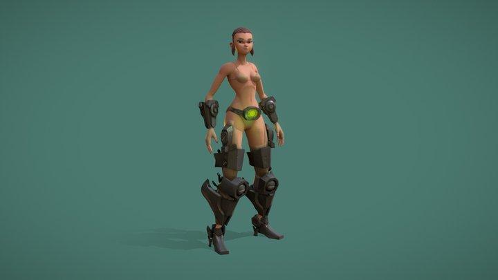 Girla 3D Model