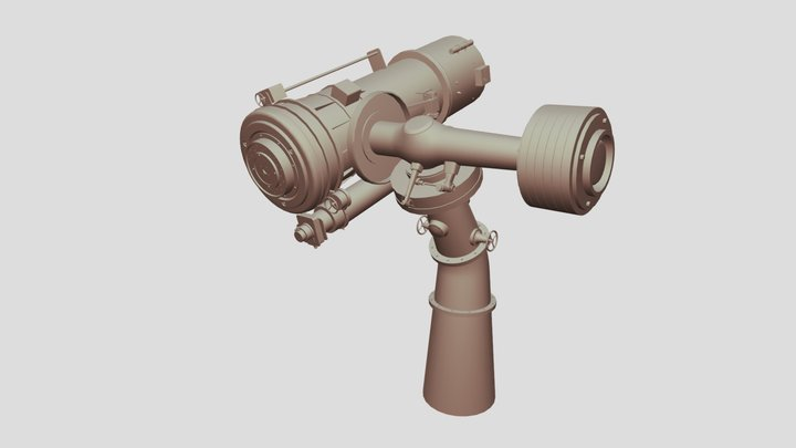Telescope MP 3D Model