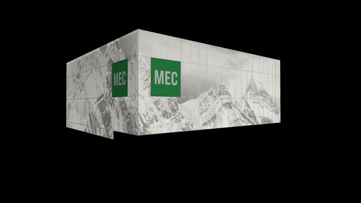 Mountain Equipment Co-op - white 3D Model
