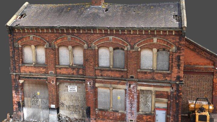 HQ Inspection Railway Building Model 3D Model