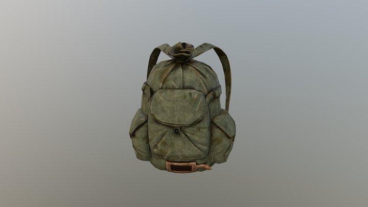 Soviet Backpack 2,2 Low 3D Model