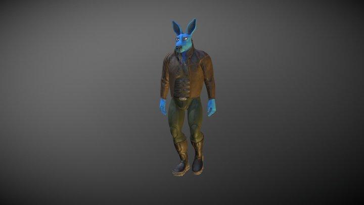 Baxter - Avatar 3D Model