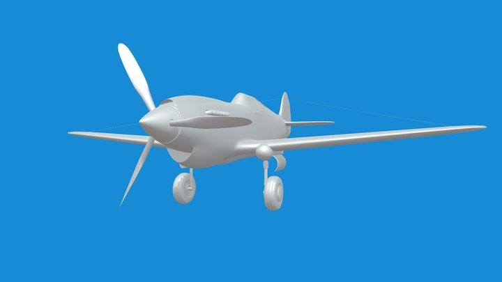 P-40 3D Model