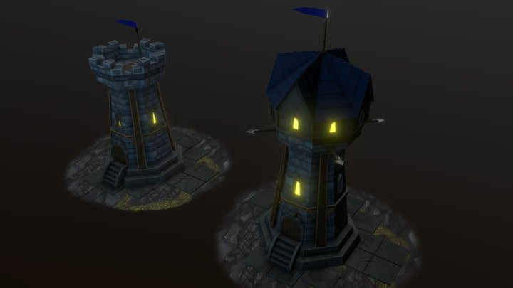 Towers WoW 3D Model