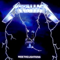 RIDE THE LIGHTNING - METALLICA ALBUM COVER 3D Model