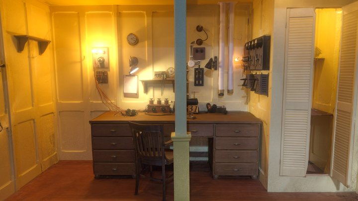 Titanic's Marconi Room 3D Model