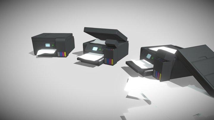 Epson 4750 Printer 3D Model
