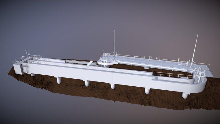 East Bank 3D Model