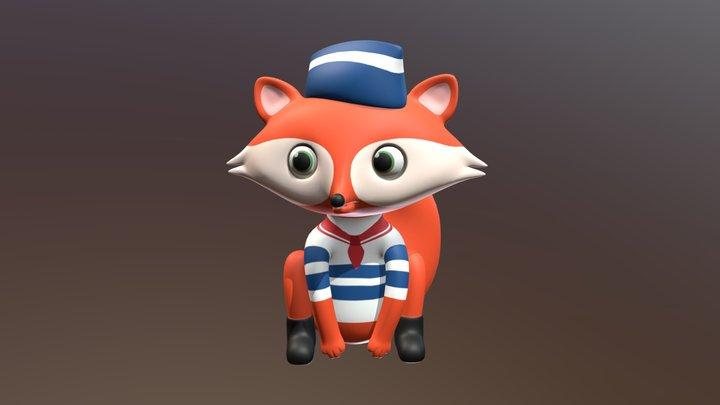 Fox AR 3D Model