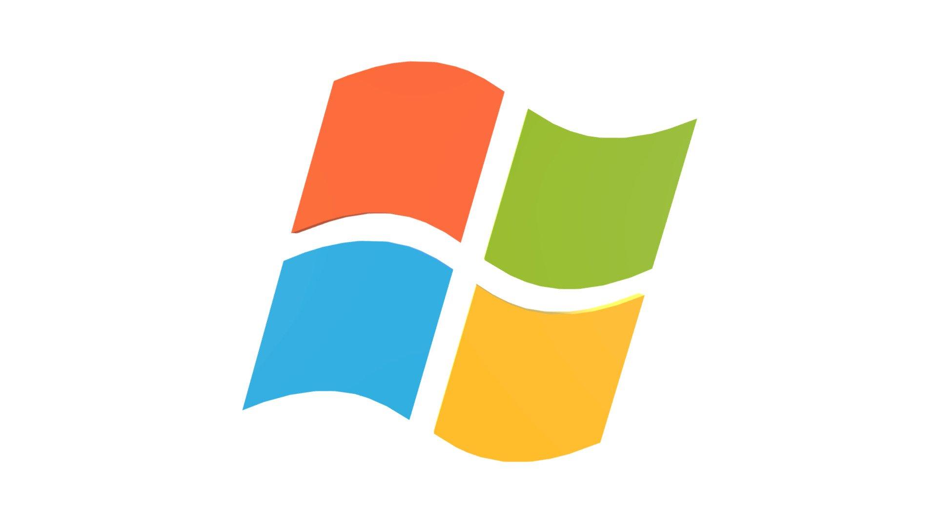 Windows XP Logo - Buy Royalty Free 3D model by Aldo (@aldo.a.y) [675a466]