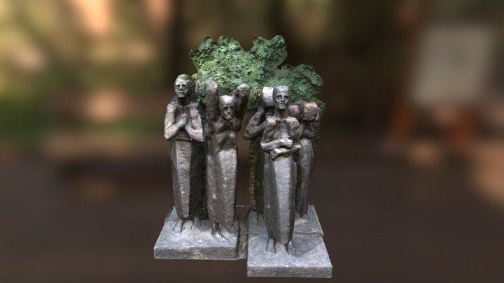 Hidden statue 3D Model