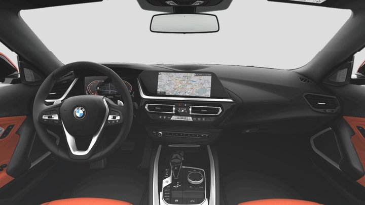 BMW Interior4 3D Model
