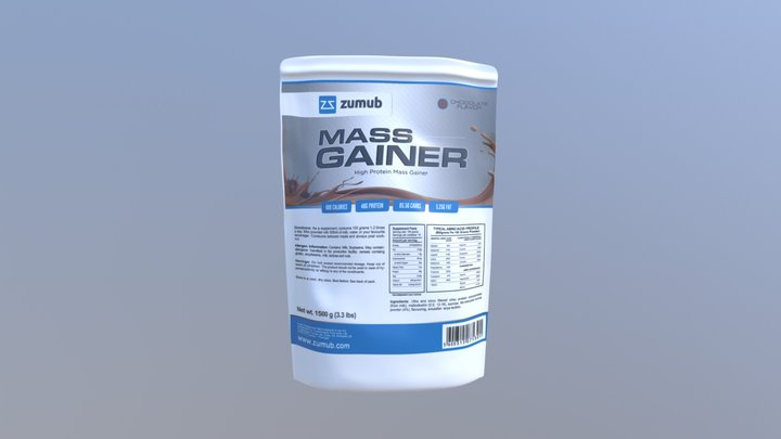Zumub - Mass Gainer 3D Model
