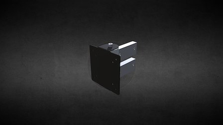 Ref: 422 01, Monitor Mount, Small 3D Model