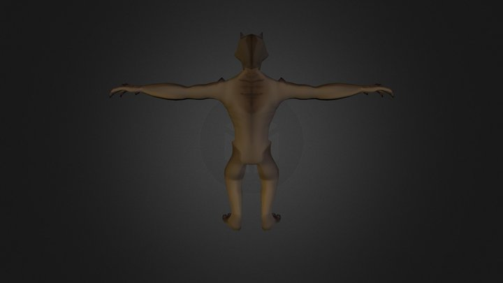 Monster Hard Medium Stefan 3D Model