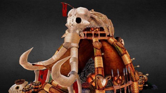 Mammoth House new 3D Model