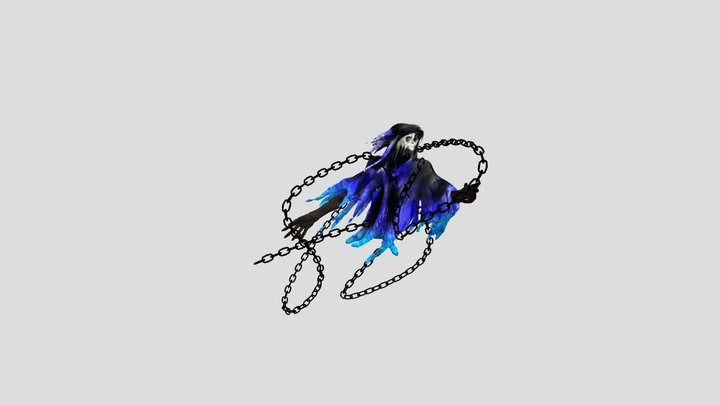 Ghost with chains 3D Model