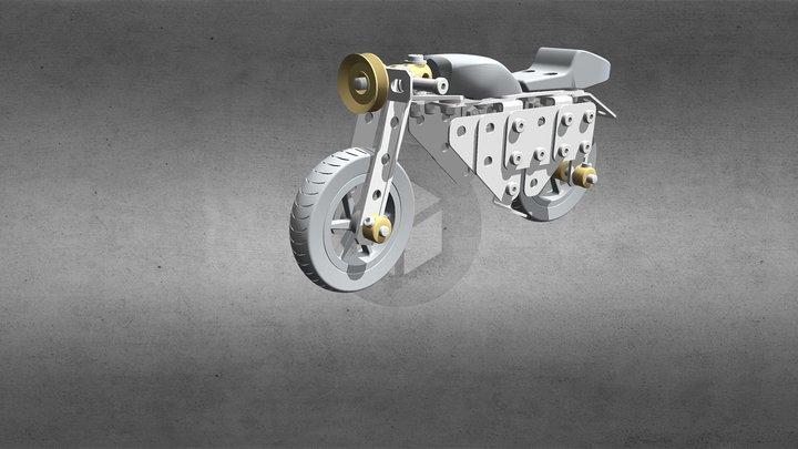 S133 Rennmotorrad_3DD 3D Model