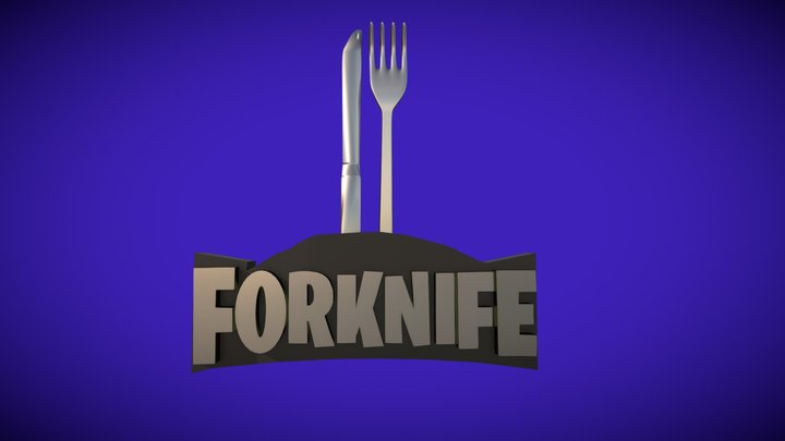 Forkknife 3D Model
