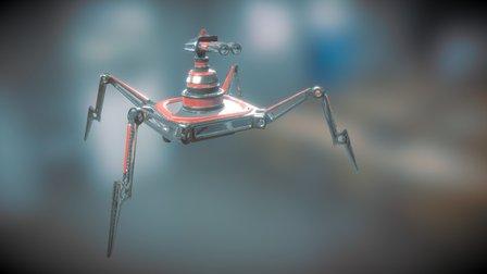 Robo Turret 3D Model