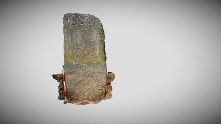 Rhynie 3 Warrior Figure 3D Model
