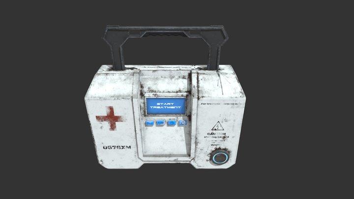 Sci-fi portable medkit 3D Model