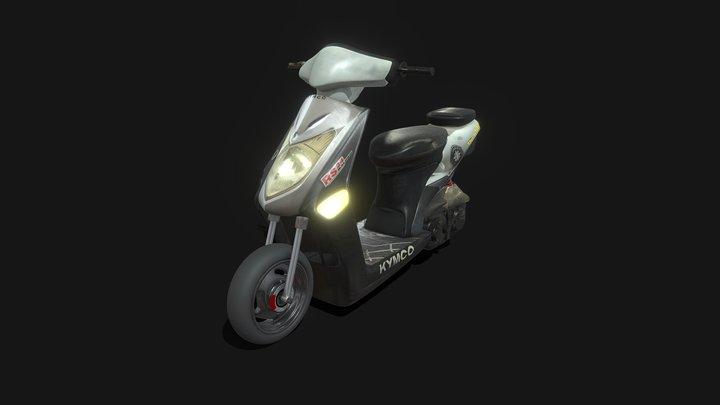 Kymco Agility 2009 3D Model