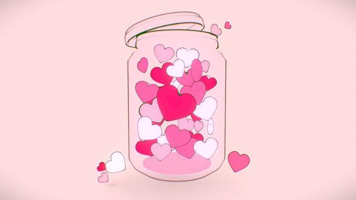 Jar of Hearts 3D Model