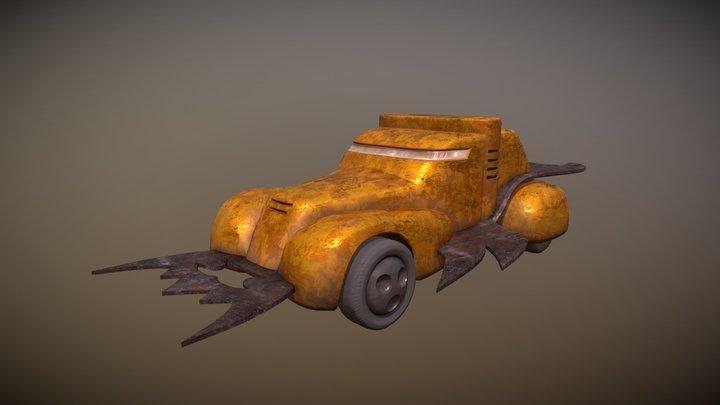 Vangers Oxidized Monk Model 1.5 (Orange Glorx) 3D Model