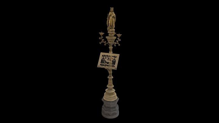 MRHA-chandelier-lutrin 3D Model