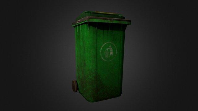Prop_Trash_Bin 3D Model