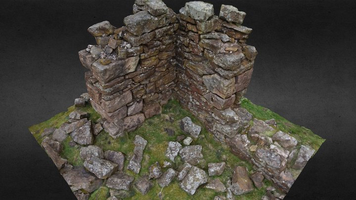 Rosedale High Baring Cottages - drill test hole 3D Model