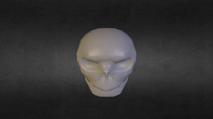 Just The Skull 3D Model
