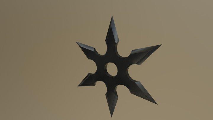 Shuriken 3D Model