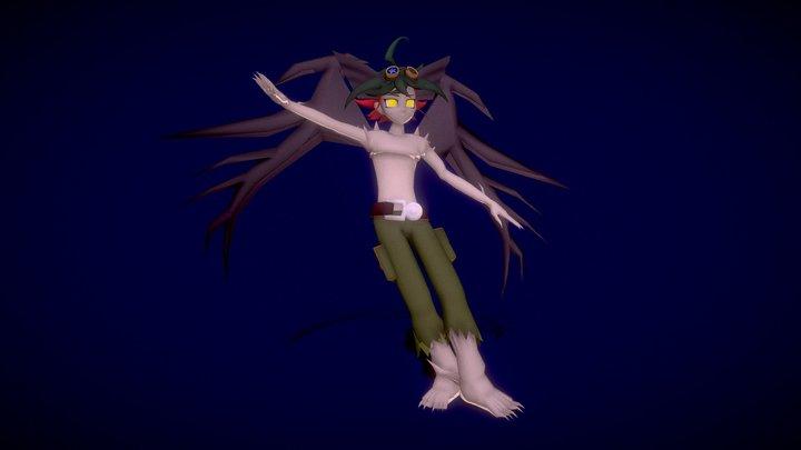 Yuya Sakaki (Dragon Form) 3D Model