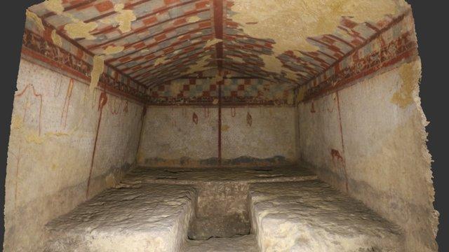 Tomba del Cacciatore - Step 3 3D Model