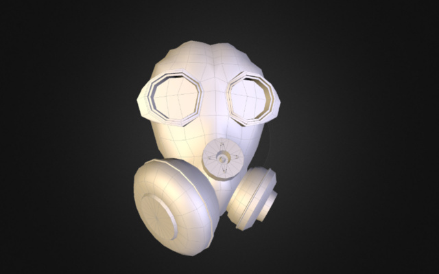Gas Mask WIP 3D Model