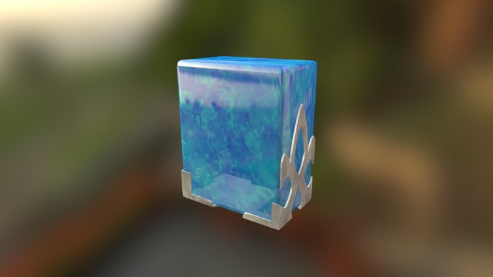 Teleporting Crystal 3D Model